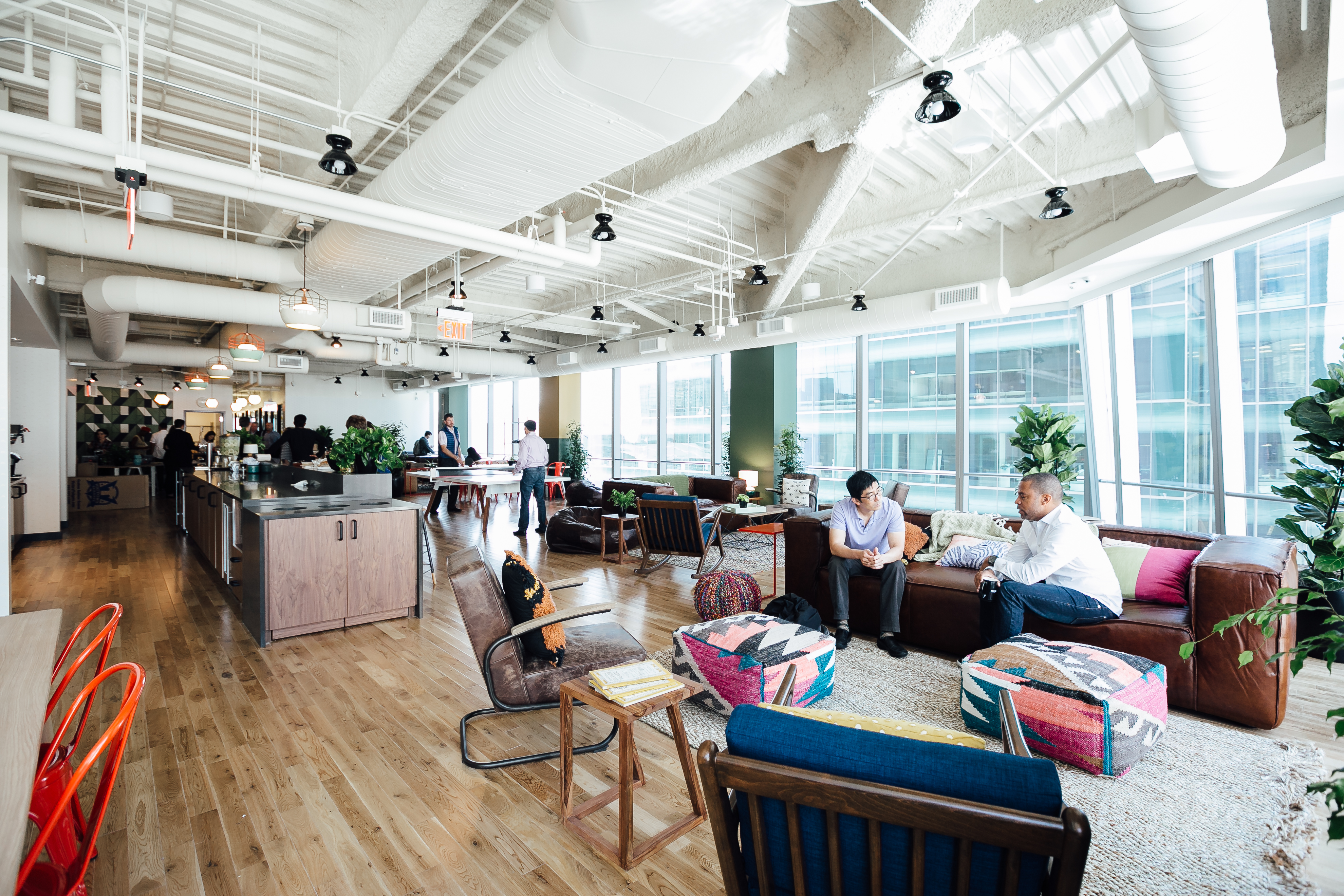 Coworking Office Space In New York City Wework Times Square