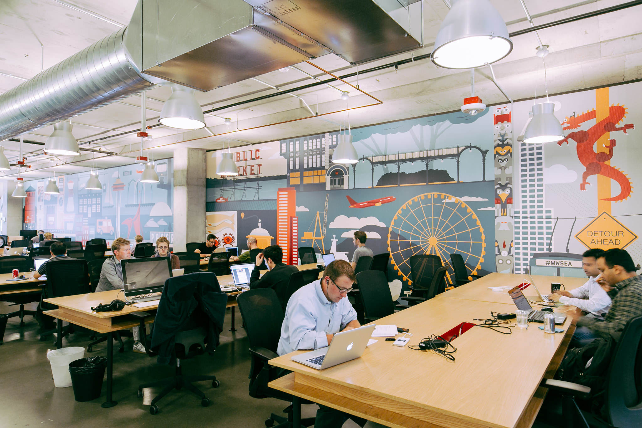 Coworking Office Space In Seattle Wework South Lake Union